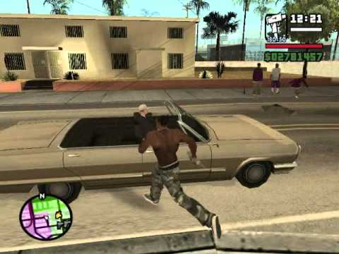 GTA San Andreas : Theme Song (by Young Maylay - CJ's voice)