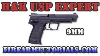 hk usp expert 9mm review