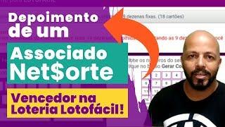 🍀Associado do Portal Net Sorte acerta 14 pts na Lotofácil e compartilha a técnica!