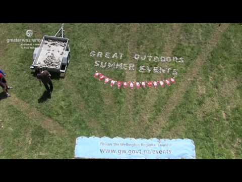 The making of the 2014 Great Outdoors Summer Events Programme