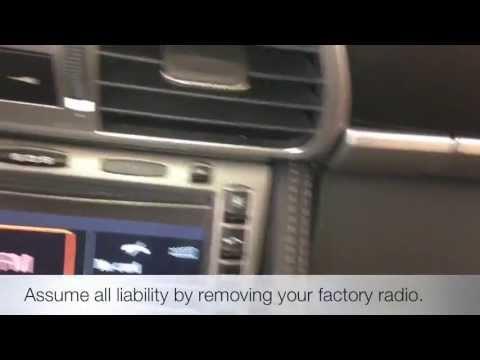 How to Remove a Factory Porsche 911 997 987 PCM Stock Radio Carrera Boxster Cayman