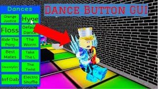 WIE MACHEN SIE EINEN KLICK AUF DANCE BUTTON GUI!    Roblox Studio (2019)