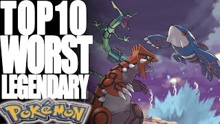Repeat youtube video Top 10 Worst Legendary Pokémon