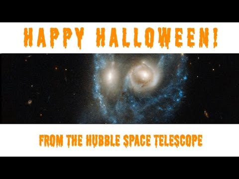 Hubble's Scary New Halloween Image