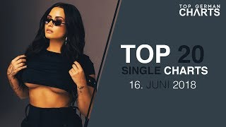TOP 20 SINGLE CHARTS ▸ 16. JUNI 2018