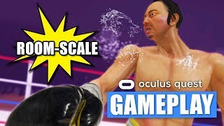 The Thrill Of The Fight Room-scale Oculus Quest Gameplay