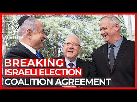 Israel's Netanyahu, Gantz Sign Unity Government Agreement