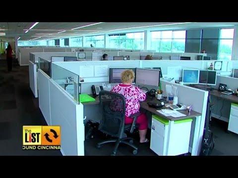 AROUND CINCINNATI: New Modern Office Spaces Have Open Floor Plans and Lots of Perks