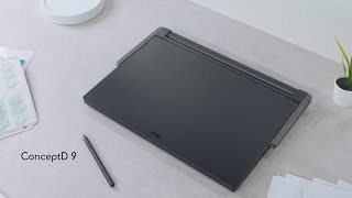 First Look: The New ConceptD 9 Creator Laptop | ConceptD