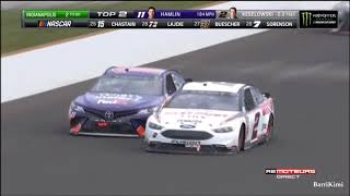 Monster Energy NASCAR Cup Series Indianapolis 2018 Race Finish French Commentary