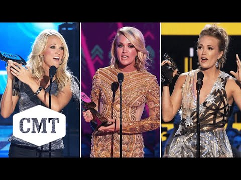 Every Single Carrie Underwood CMT Music Awards Win 🏆