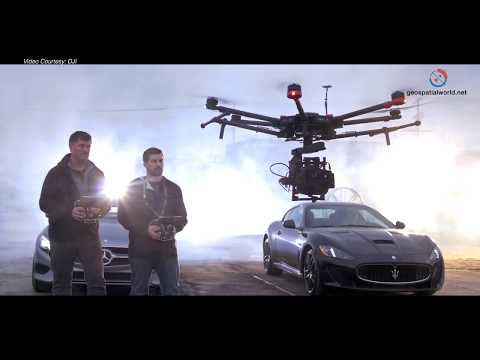 DJI's Matrice 600 - Powerful Aerial Platform for Mapping and Surveying