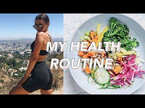eating healthy and working out everyday for a week (mon-fri)