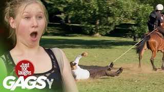 Horse Ride Gone Wrong - Just For Laughs Gags