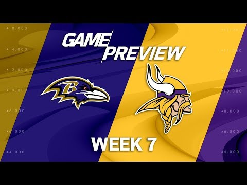 Baltimore Ravens vs. Minnesota Vikings | Week 7 Game Preview | Move the Sticks