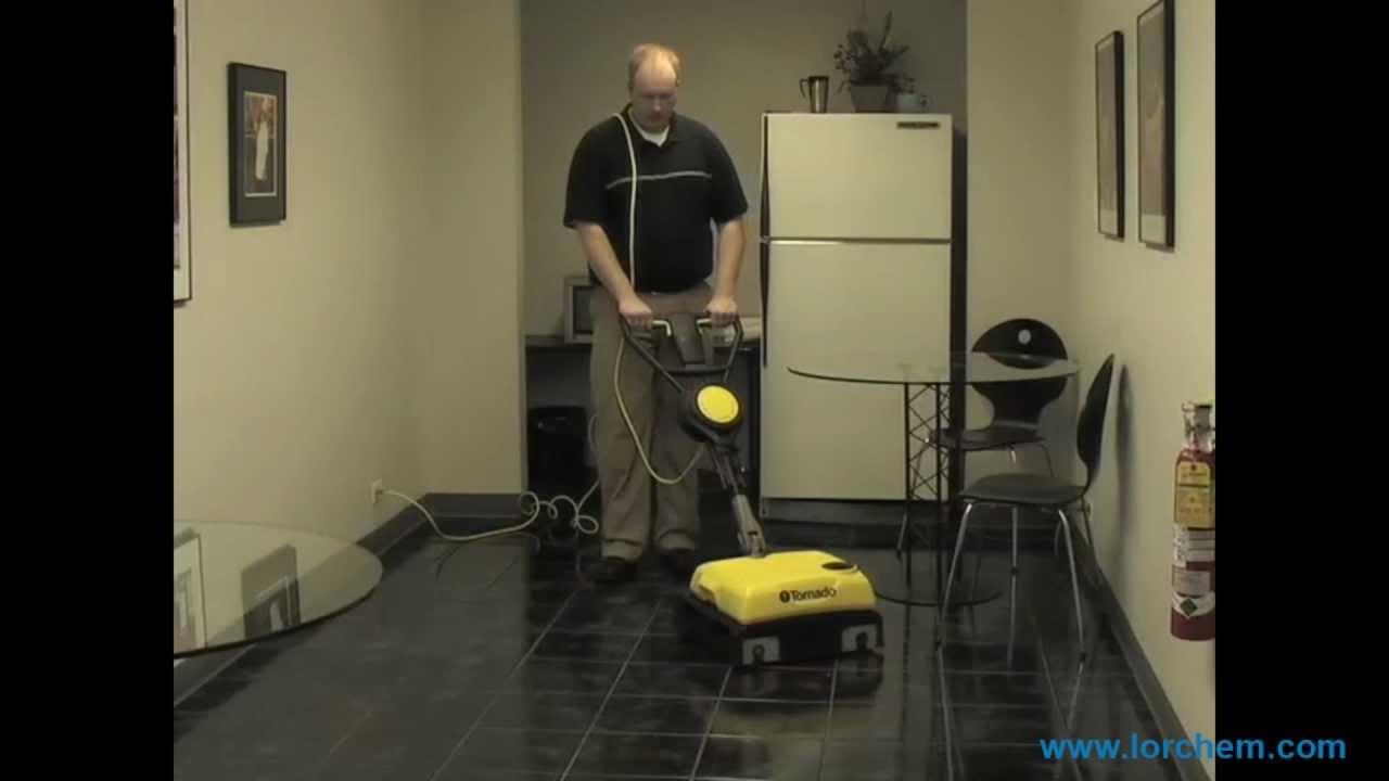 cylindrical brush floor machine | tornado br vario ll