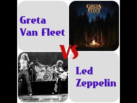 Led Zeppelin Vs Greta Van Fleet