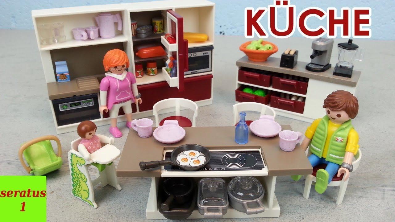 Playmobil Große Familienküche 9269 Auspacken Modernes Wohnhaus Seratus1