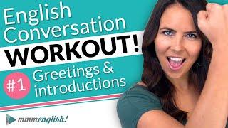 English Conversation Training ⚡️ Pronunciation Workout #1