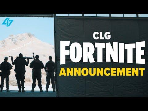 Best Fortnite Announcement Ever? - CLG Fortnite