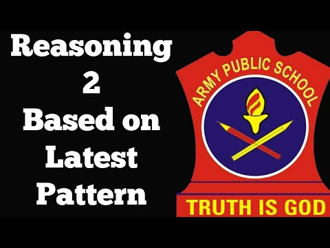 APS army public school previous year paper AWES PART-A REASONING 2