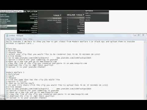 how-to-upload-mw3-and-black-ops-clips-and-upload-without-a-capture-card