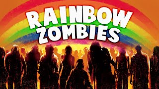 rainbow zombies part 2 call of duty zombies mod zombie games