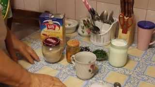 Быстрый завтрак.Видео рецепт приготовления.