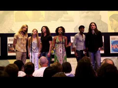 "Sasha Allen and cast sing ""Aquarius"" from HAIR"