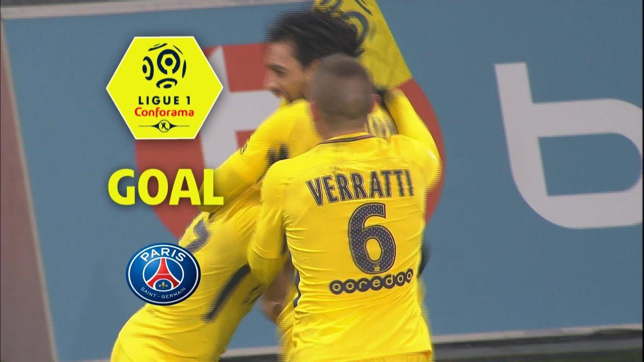 4a3d6ac8b3 Goal Yuri BERCHICHE (45 )   LOSC - Paris Saint-Germain (0-3)   2017 ...