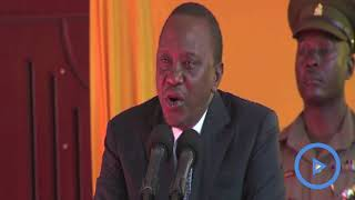 No political dialogue with you at all - Uhuru Kenyatta tells Raila Odinga