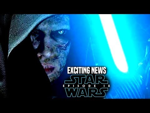 Star Wars Episode 9 Anakin! Exciting News Revealed & More! (Star Wars News)
