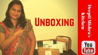 #UnBoxing | My New #Unboxing Video With My Daughter | Kitchen Tool Unboxing | Deepti Mishra's