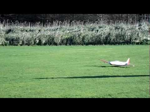 Fournier RF-5 maiden flight HD