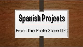 Spanish Project Preview