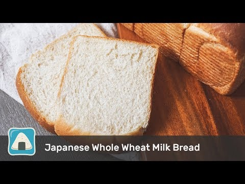 Super Soft & Flavorful Hokkaido Whole Wheat Milk Bread for Beginners (Stand Mixer)