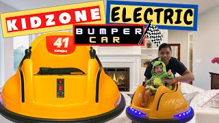 """How to Install and Use """"KIDZONE ELECTRIC RIDE BUMPER CAR"""""""