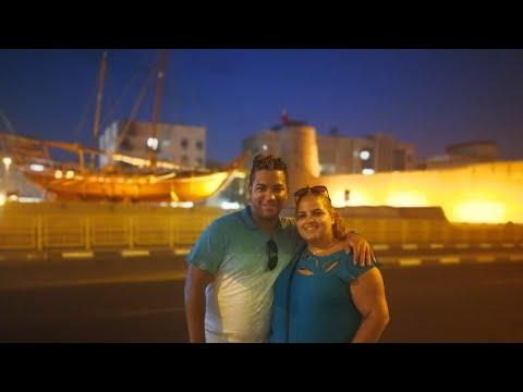 Dubai food tour - Jose Gomez with Junier cantero & dayneris coda