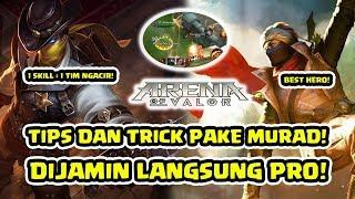 Tips dan Trik! Cara Supaya Pro Menggunakan Murad! - Arena of Valor AOV