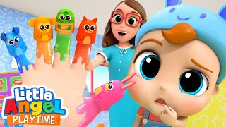 Finger Family | Animals Songs | Little Angel Kids Songs and Nursery Rhymes