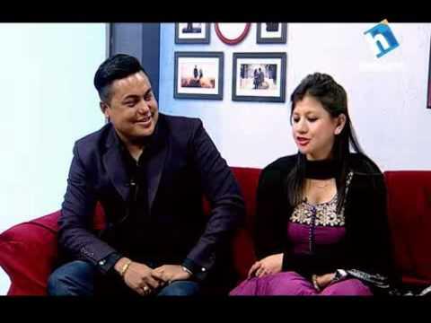 Jeevan Saathi - जीवनसाथी - कलाकार सन्दिप क्षेत्री  समिक्षा पोखरेल - Sandip Chhetri and his wife)