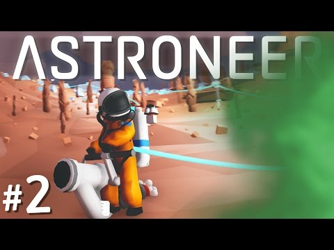 TOXIC GAS PLANTS | Let's Play Astroneer (#2)