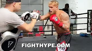 JAKE PAUL LIGHTS UP MITTS WITH KO COMBOS FOR TYSON VS JONES JR CARD; READY TO CROSS UP NATE ROBINSON
