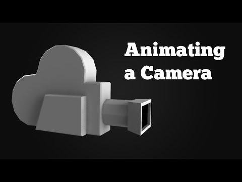 Animating a camera in Maya