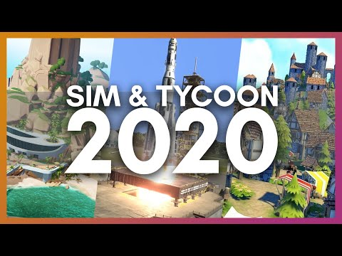Best Simulation, Tycoon & City Builder Games of 2020