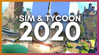 Most Anticipated Simulation, Ty¢oon & City Builder Games of 2020
