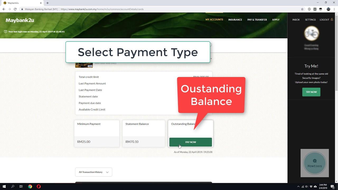 How To Print Maybank2u Bank Statement Youtube