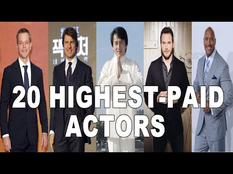 Top 20 Highest-Paid Actors in The World 2016