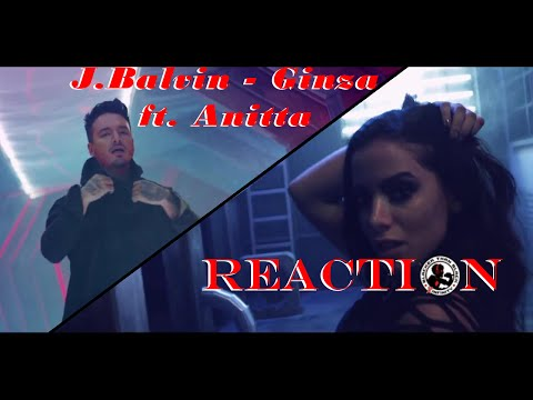 J. Balvin - Ginza ft Anitta: REACTION