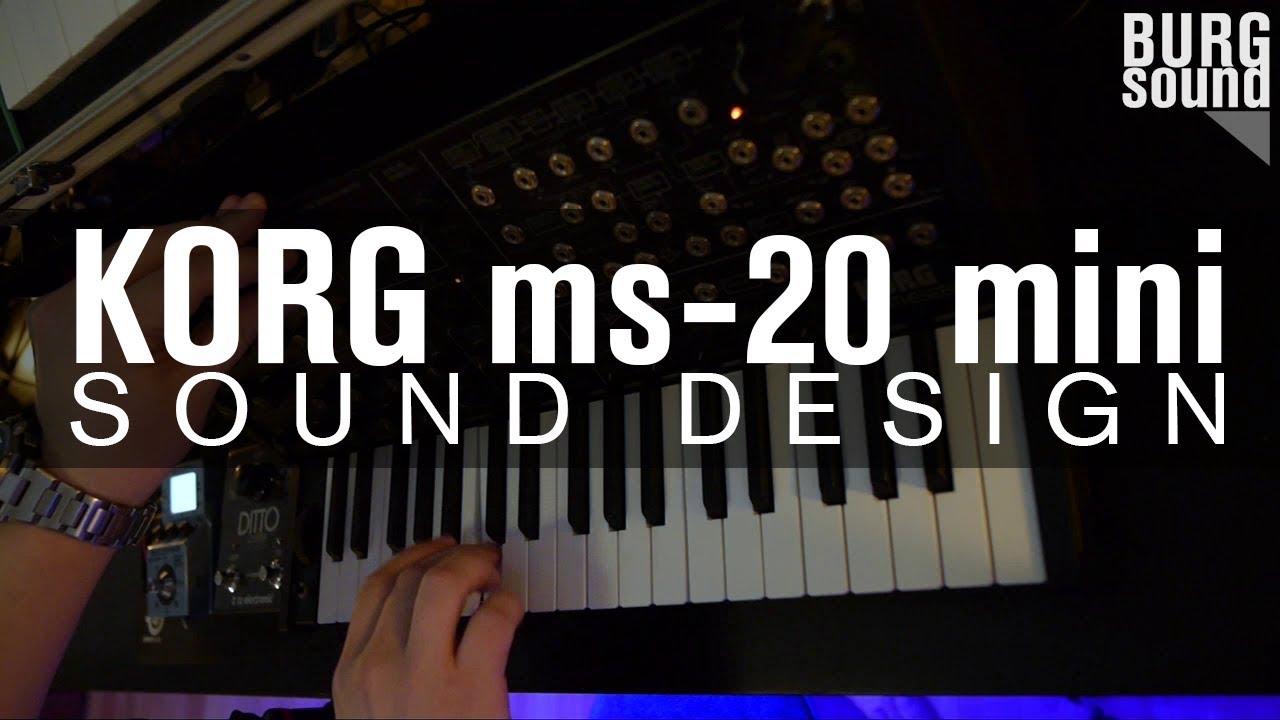 BURG SOUND - pilot episode (ms-20 sound design)